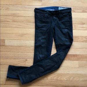 Skinny Jean Moto Diesel Jeans Size 25